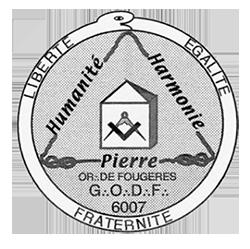 Sceau de la loge Humanité Pierre Harmonie